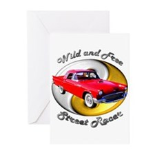 Classic Ford Thunderbird Greeting Cards (Pk of 10)
