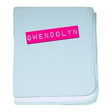 Gwendolyn Punchtape baby blanket