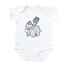 Funny Dentist Dental Hygienist Infant Bodysuit