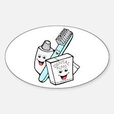 Funny Dentist Dental Hygienist Decal