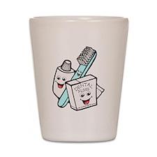 Funny Dentist Dental Hygienist Shot Glass