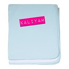 Kaliyah Punchtape baby blanket