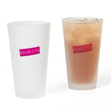 Shaniya Punchtape Drinking Glass