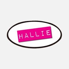 Hallie Punchtape Patches