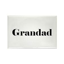 Grandad Rectangle Magnet
