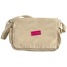 Kiana Punchtape Messenger Bag