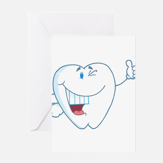 Funny Dentist Dental Hygienist Greeting Card
