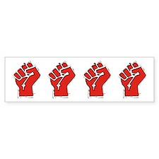 Raised Fist Car Sticker