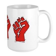 Raised Fist Mug