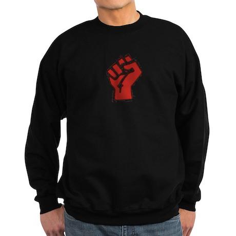Raised Fist Sweatshirt (dark)