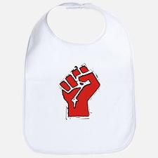 Raised Fist Bib