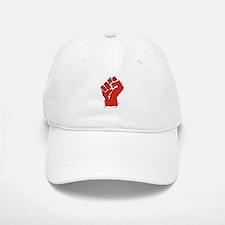 Raised Fist Baseball Baseball Cap