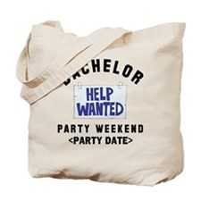 Bachelor Party (Enter Date) Tote Bag