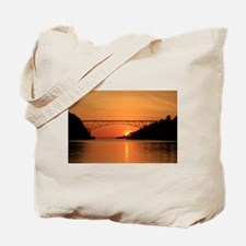Deception Pass Bridge Tote Bag