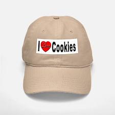 I Love Cookies Baseball Baseball Cap
