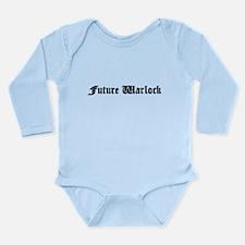 Future Warlock Long Sleeve Infant Bodysuit