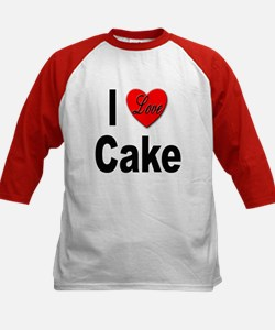 I Love Cake (Front) Tee