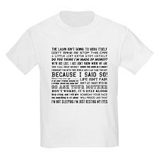 Dad-isms T-Shirt