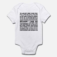Dad-isms Infant Bodysuit