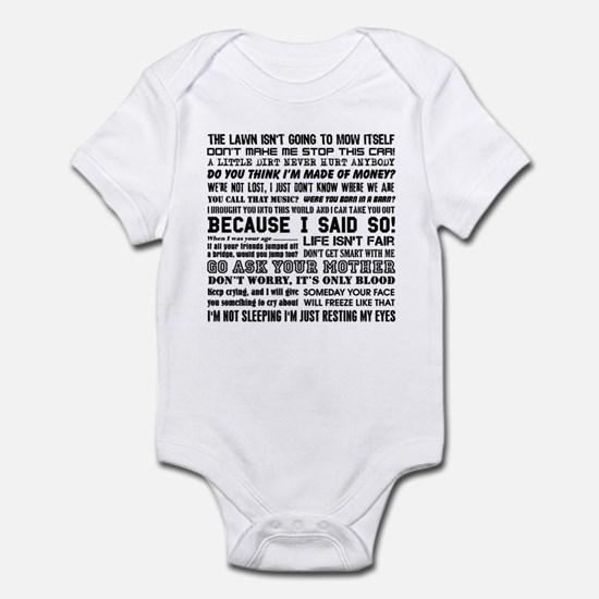 Dad-isms Infant Bodysuit