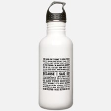 Dad-isms Water Bottle