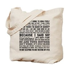Dad-isms Tote Bag