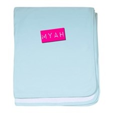 Myah Punchtape baby blanket