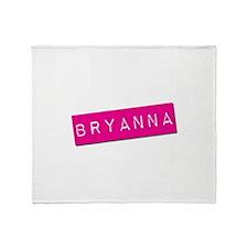 Bryanna Punchtape Throw Blanket
