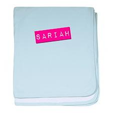 Sariah Punchtape baby blanket