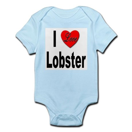 I Love Lobster Infant Creeper