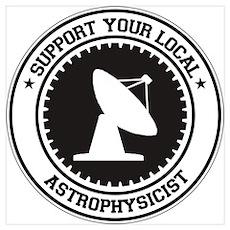 Support Astrophysicist Poster