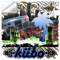 kubo downtown Wall Decal