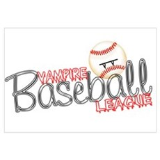 Vampire Baseball League- Twil Framed Print