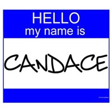 """""""Candace"""" Poster"""