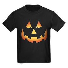 Scary Pumpkin Face T