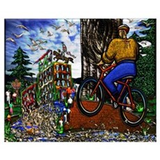 Nature Bike Ride Poster