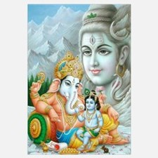 Ganesh and Krishna Print