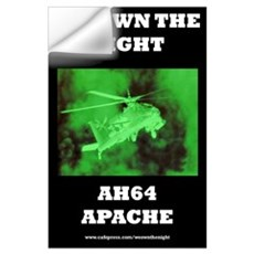 AH64 Apache Wall Decal