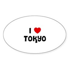 I * Tokyo Oval Decal