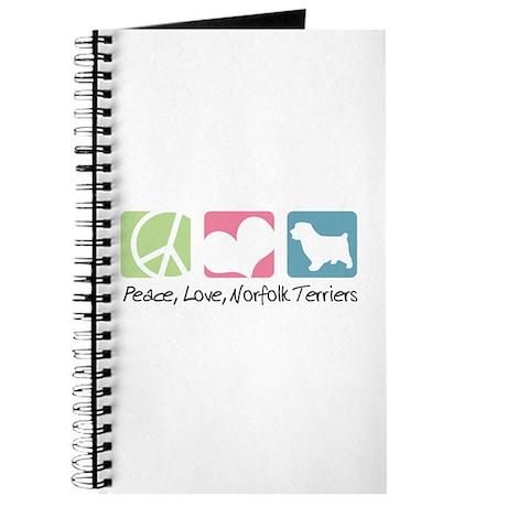Peace, Love, Norfolk Terriers Journal