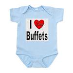 I Love Buffets Infant Creeper