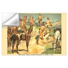 NSW Lancers Print Wall Decal