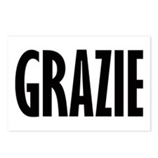 GRAZIE Postcards (Package of 8)