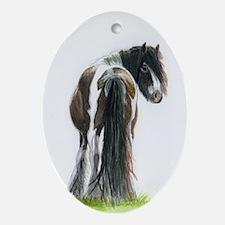 Gypsy Mare Ornament (Oval)