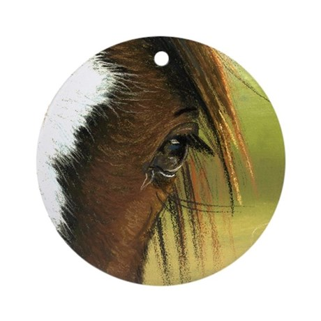 Eye of the Gypsy Ornament (Round)