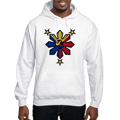 Philippine History Symbols II Hooded Sweatshirt