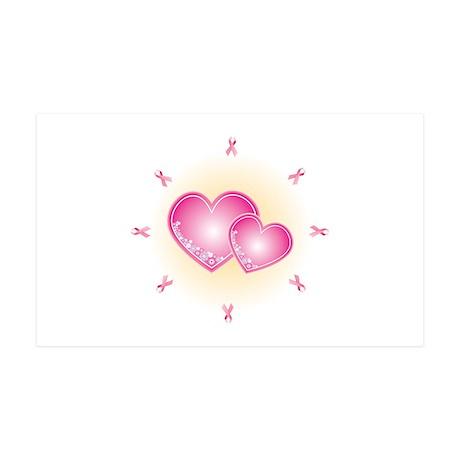Pink Ribbon 38.5 x 24.5 Wall Peel