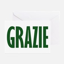 GRAZIE Greeting Cards (Pk of 20)