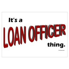 Loan Officer Thing Canvas Art