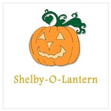 Shelby-O-Lantern Poster